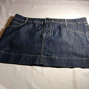 SO wear it, declare it Denim Skirt. 7 Blue